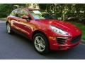 Porsche Macan  Carmine Red photo #1
