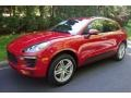 Porsche Macan  Carmine Red photo #3