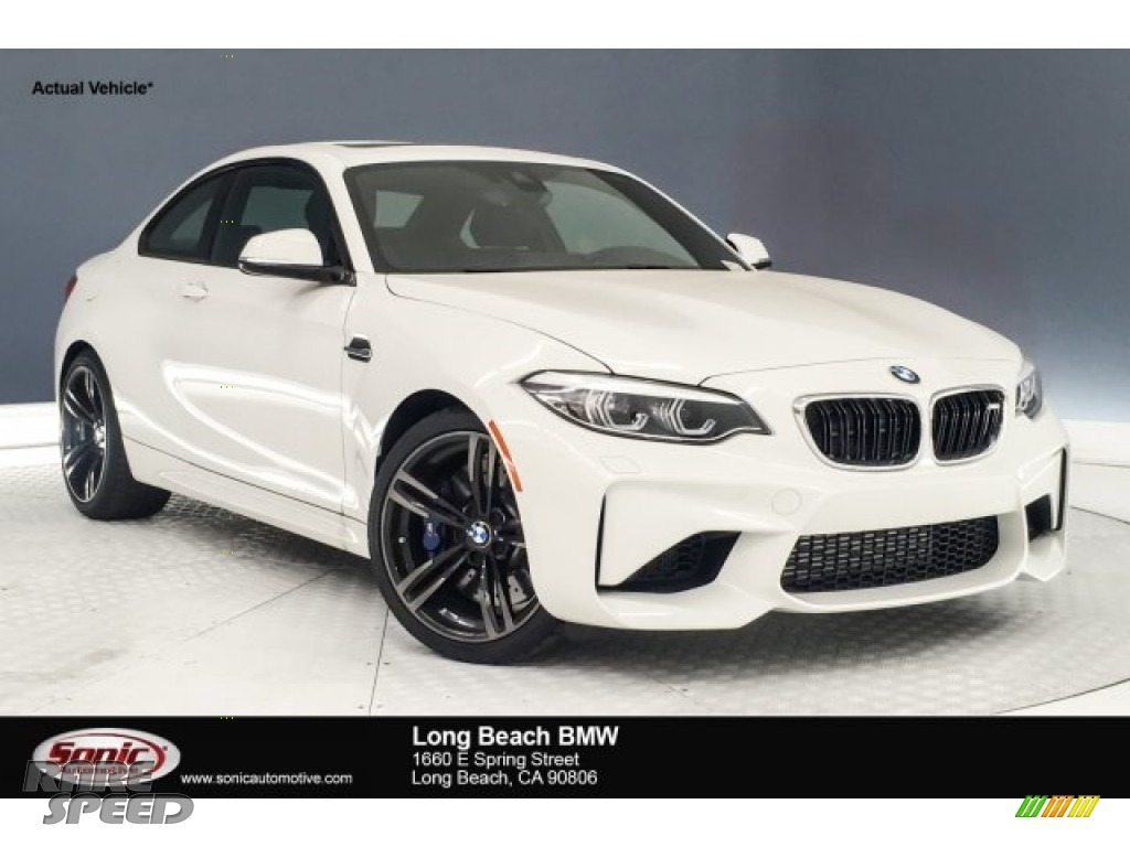 2018 M2 Coupe - Alpine White / Black photo #1