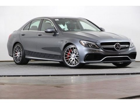 Selenite Grey Metallic 2018 Mercedes-Benz C 63 S AMG Sedan