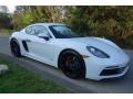 Porsche 718 Cayman GTS White photo #1