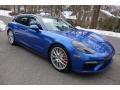 Porsche Panamera Turbo Sport Turismo Sapphire Blue Metallic photo #1