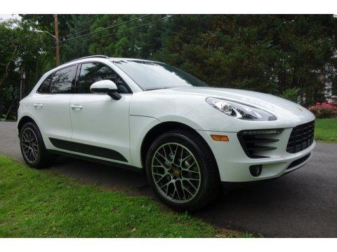 White 2018 Porsche Macan S