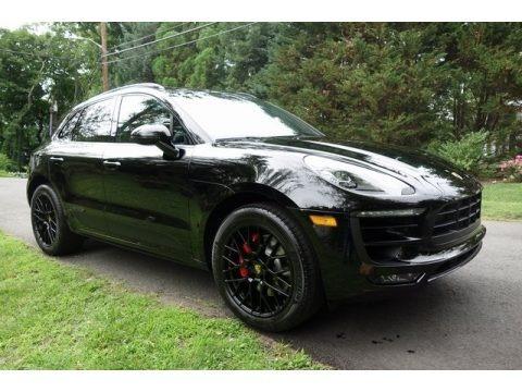 Black 2018 Porsche Macan GTS