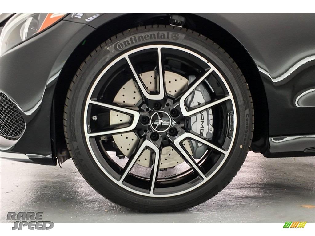 2018 C 43 AMG 4Matic Coupe - Black / Black photo #8