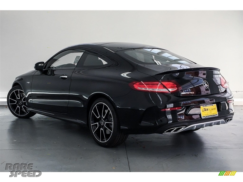2018 C 43 AMG 4Matic Coupe - Black / Black photo #10
