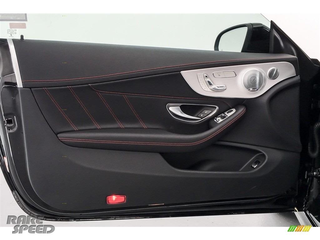 2018 C 43 AMG 4Matic Coupe - Black / Black photo #24