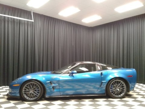 Jetstream Blue Metallic 2010 Chevrolet Corvette ZR1