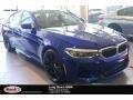 BMW M5 Sedan Marina Bay Blue Metallic photo #1