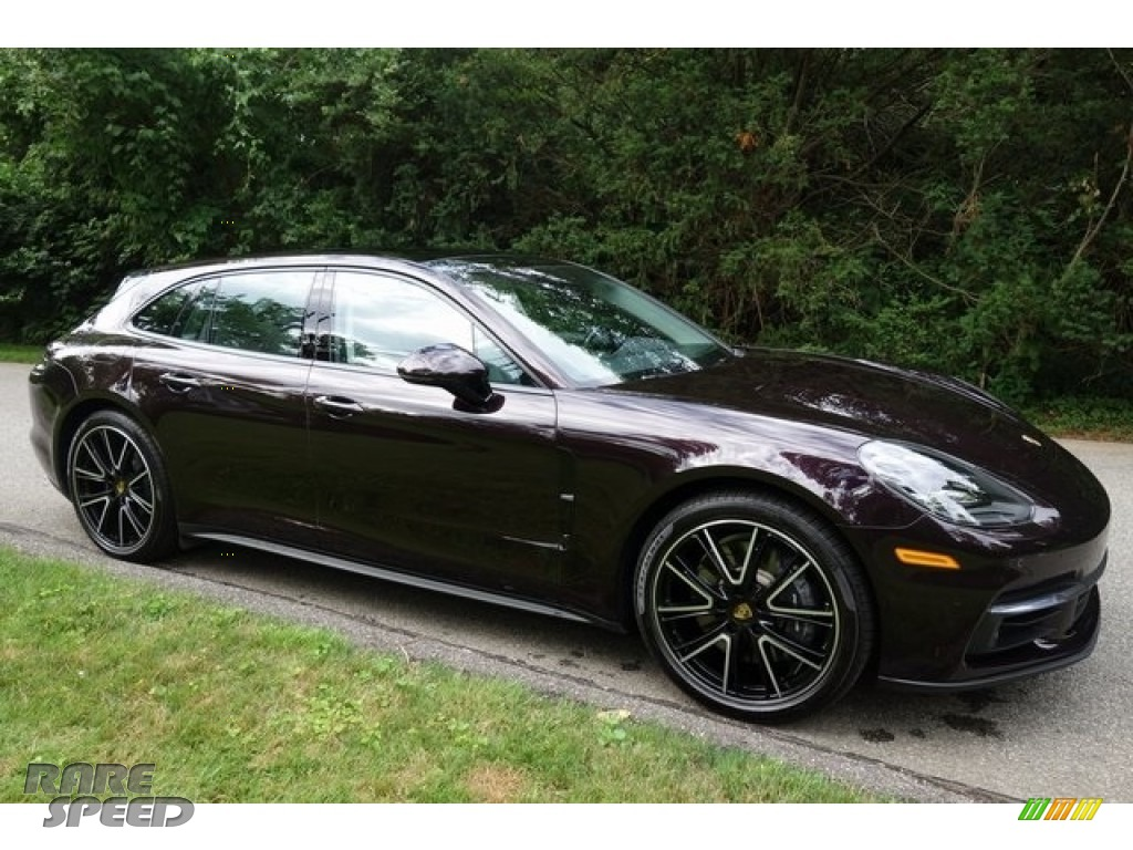 2018 Panamera 4 Sport Turismo - Amethyst Metallic / Black/Chalk photo #8
