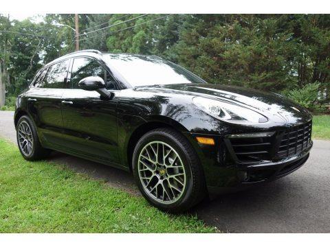 Black 2018 Porsche Macan