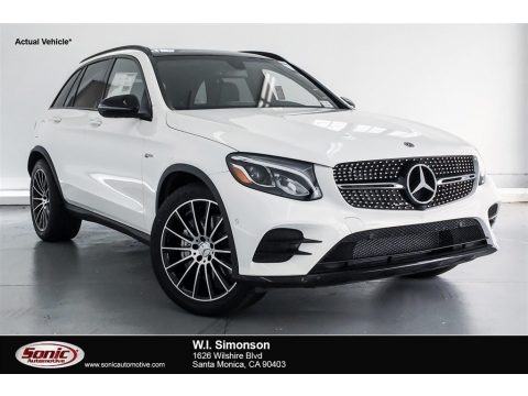 Polar White 2018 Mercedes-Benz GLC AMG 43 4Matic