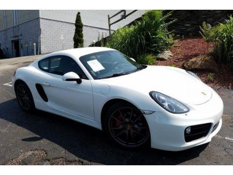 White 2014 Porsche Cayman S