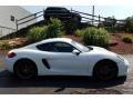 Porsche Cayman S White photo #4