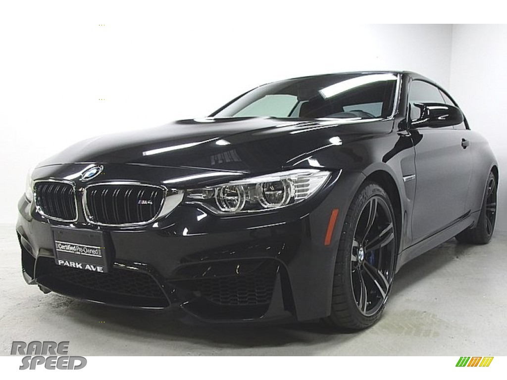 2015 M4 Convertible - Black Sapphire Metallic / Sakhir Orange/Black photo #1