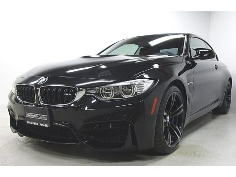Black Sapphire Metallic 2015 BMW M4 Convertible