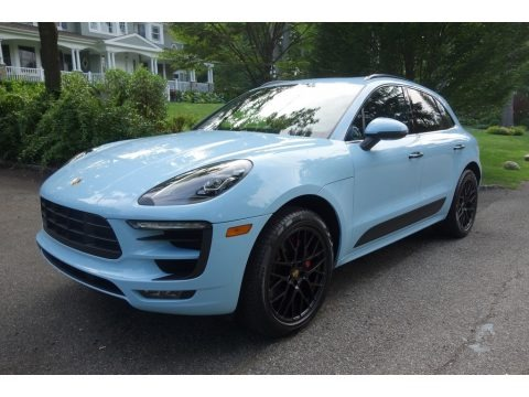 Paint to Sample Gulf Blue 2018 Porsche Macan GTS
