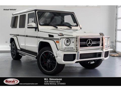 designo Manufaktur Mystic White 2018 Mercedes-Benz G 63 AMG