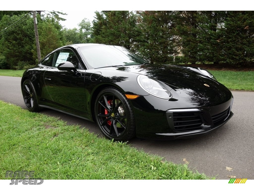 2018 911 Carrera 4S Coupe - Black / Black photo #1