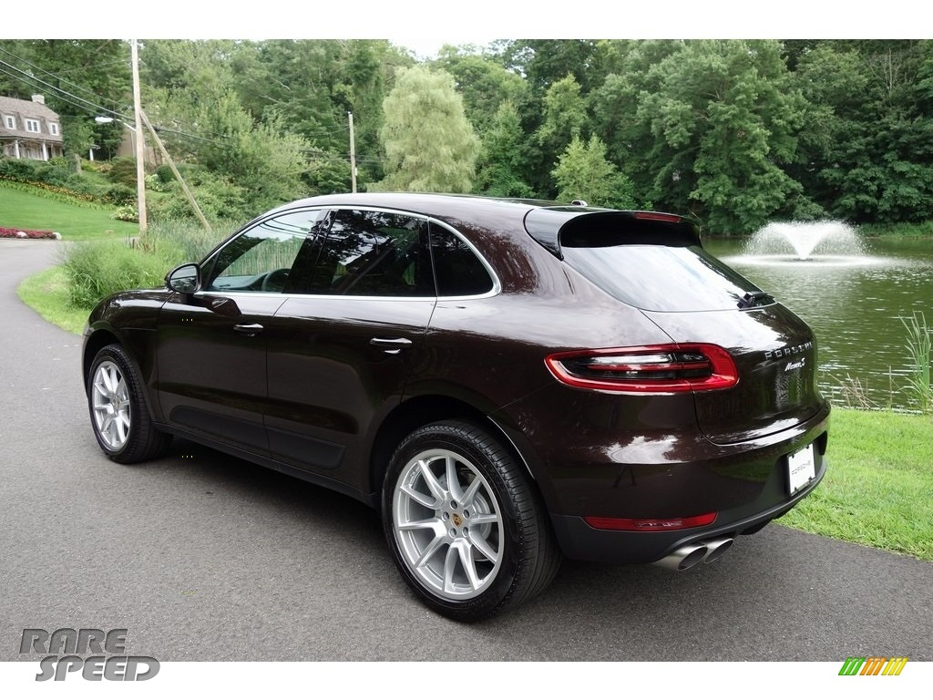2018 Macan S - Mahogany Metallic / Black/Luxor Beige photo #6