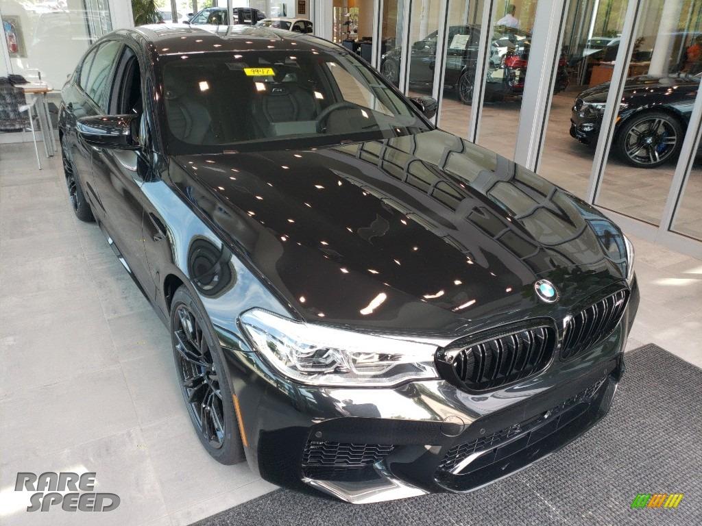 2018 M5 Sedan - Black Sapphire Metallic / Black photo #1