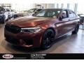 BMW M5 Sedan Frozen Dark Red Metallic photo #1