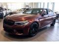 BMW M5 Sedan Frozen Dark Red Metallic photo #12