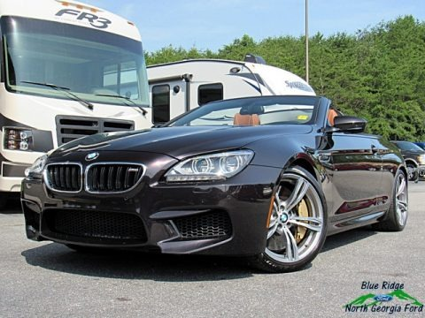 BMW Individual Ruby Black Metallic 2014 BMW M6 Convertible