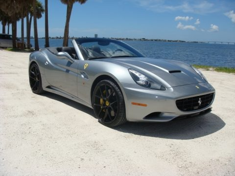 Grigio Silverstone (Dark Grey Metallic) 2011 Ferrari California