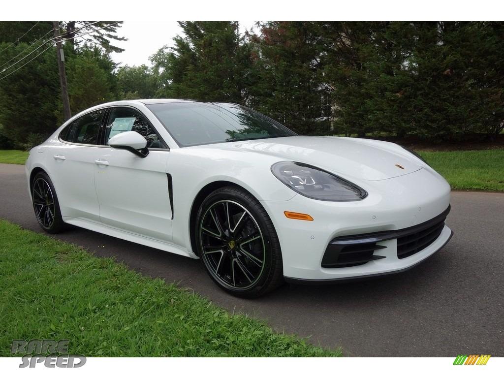 White / Black Porsche Panamera 4