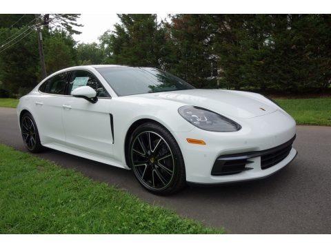 White 2018 Porsche Panamera 4