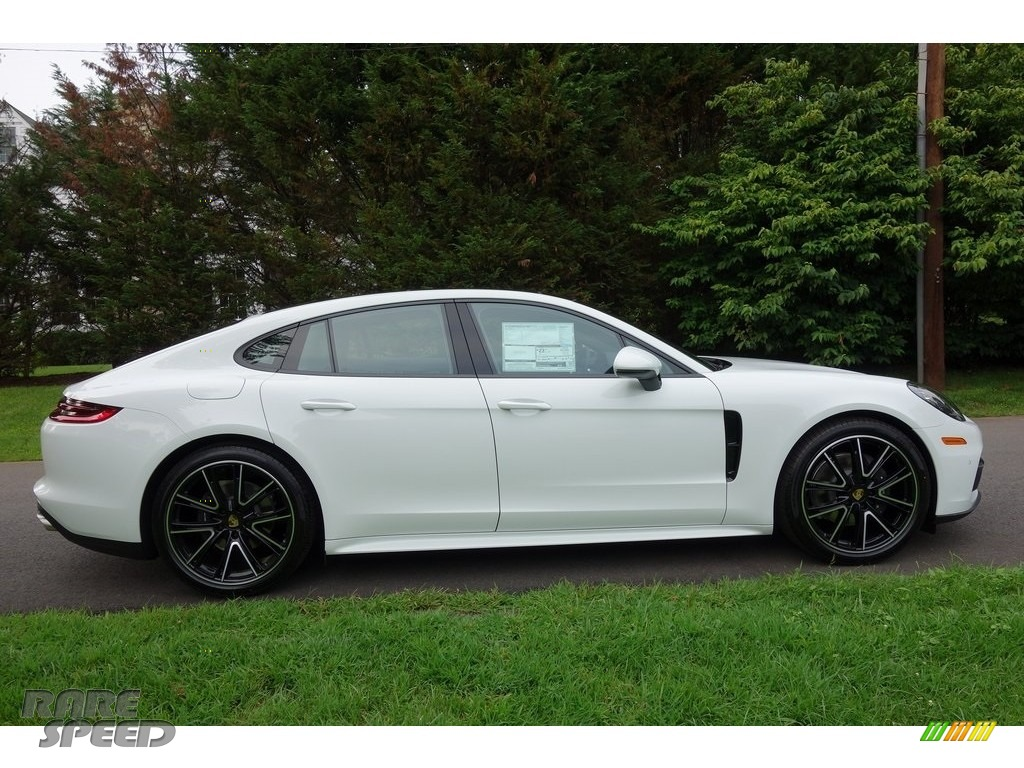 2018 Panamera 4 - White / Black photo #3