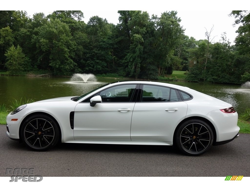 2018 Panamera 4 - White / Black photo #7