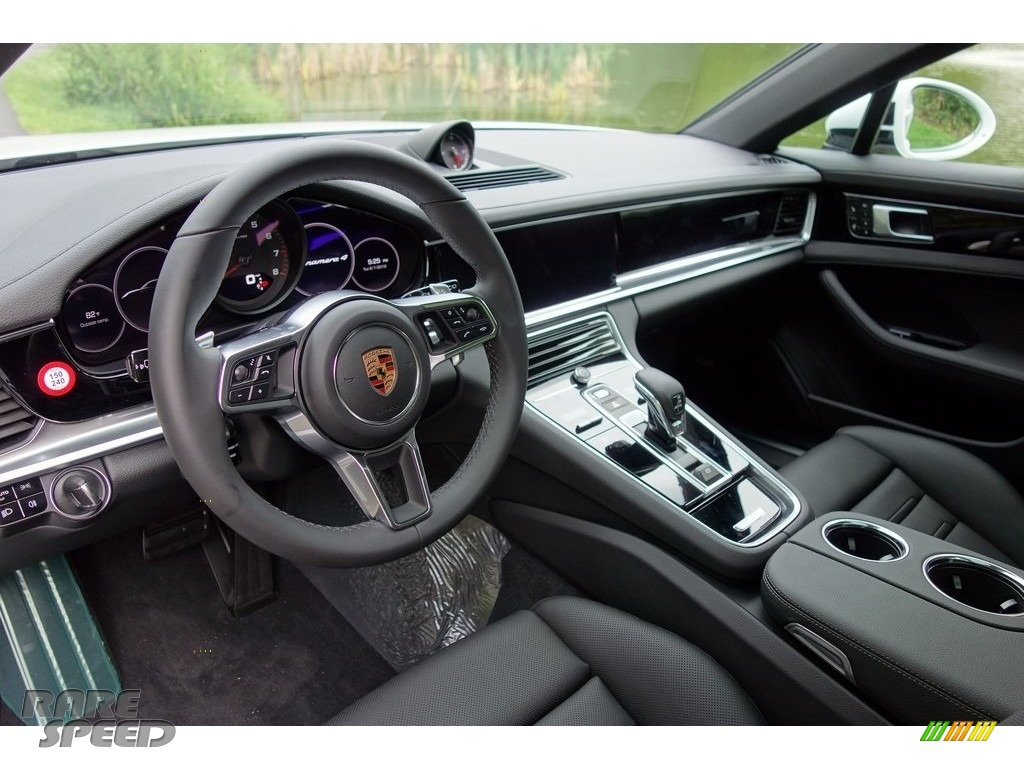 2018 Panamera 4 - White / Black photo #10