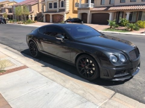 Beluga (Black) 2005 Bentley Continental GT