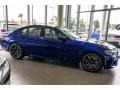 BMW M5 Competition Marina Bay Blue metallic photo #12