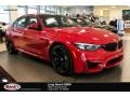 BMW M3 Sedan Imola Red photo #1