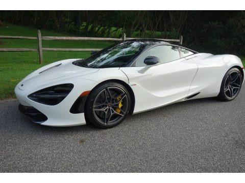 White 2018 McLaren 720S Performance