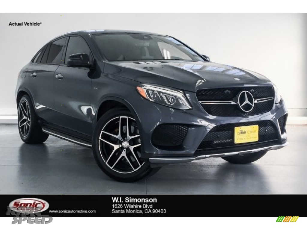 Steel Grey Metallic / Ginger Beige/Black Mercedes-Benz GLE 450 AMG 4Matic Coupe