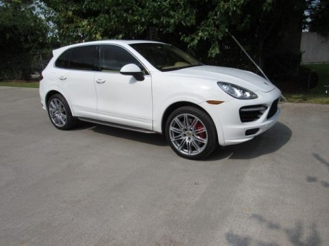 White 2014 Porsche Cayenne Turbo
