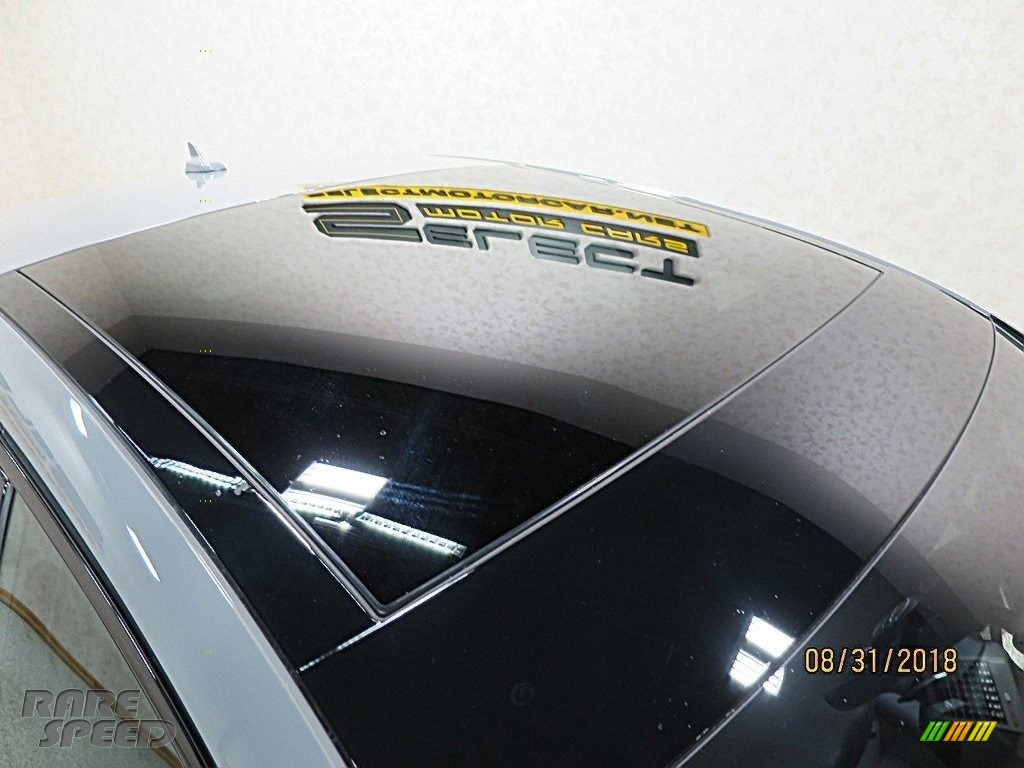 2018 RS 3 quattro Sedan - Nardo Gray / Black/Crescendo Red photo #14