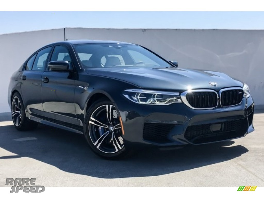 2019 M5 Sedan - Singapore Gray Metallic / Silverstone photo #12