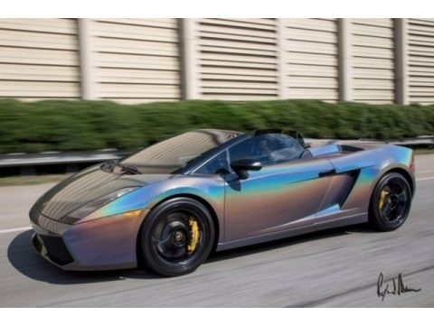 Giallo Halys (Yellow) 2008 Lamborghini Gallardo Spyder E-Gear