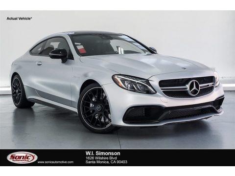 designo Iridium Silver Magno (Matte) 2018 Mercedes-Benz C 63 AMG Coupe