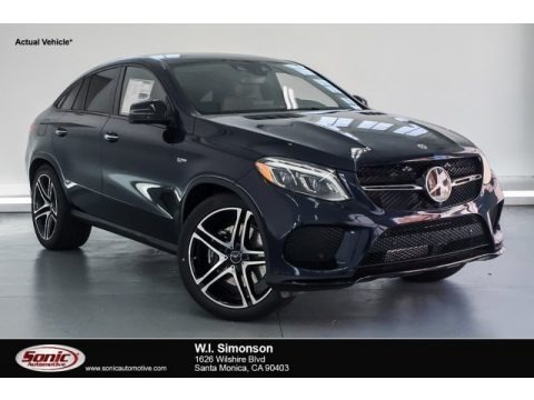 Lunar Blue Metallic 2018 Mercedes-Benz GLE 43 AMG 4Matic Coupe