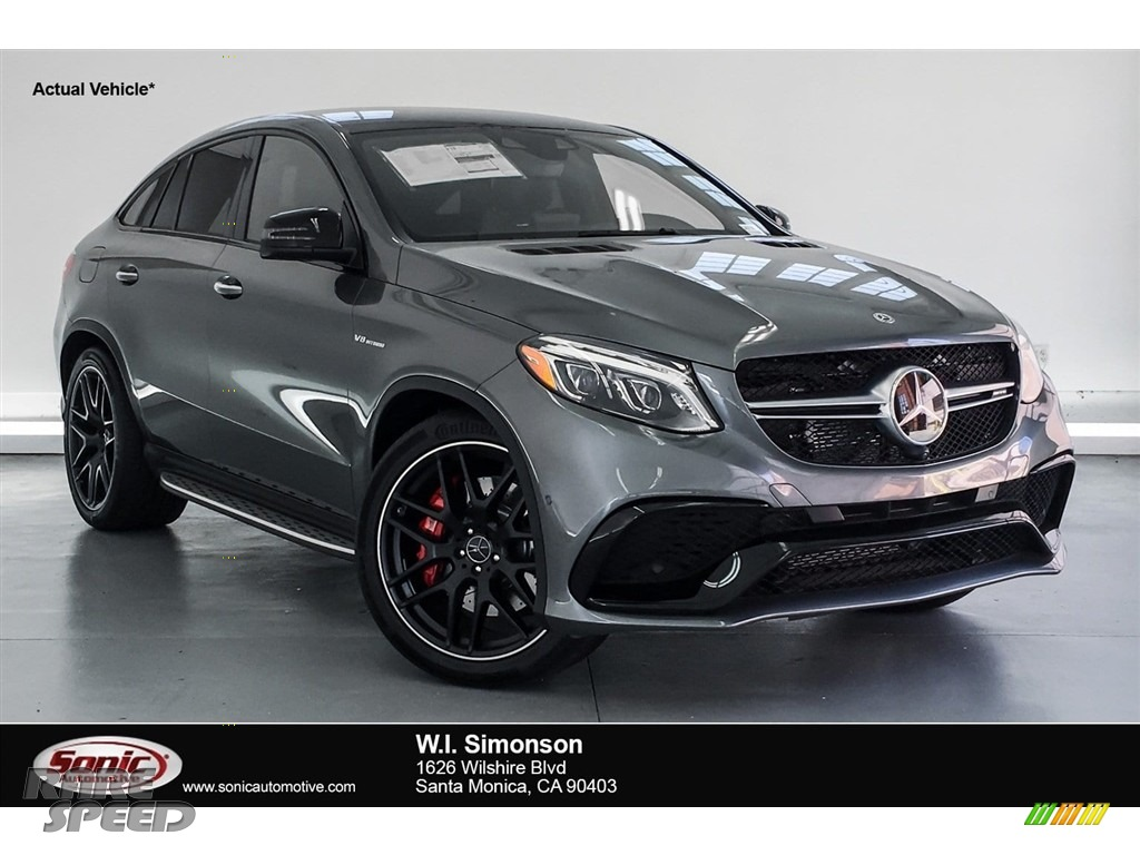2018 GLE 63 S AMG 4Matic Coupe - Selenite Grey Metallic / Black photo #1