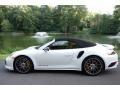 Porsche 911 Turbo S Cabriolet White photo #7