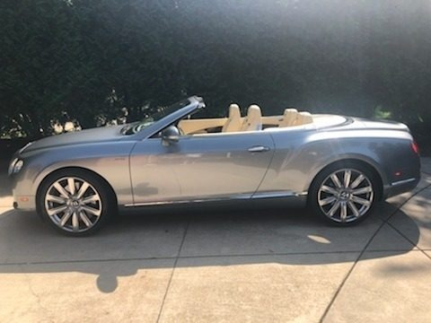 Dove Gray 2014 Bentley Continental GTC