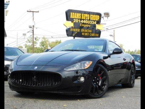 Nero (Black) 2008 Maserati GranTurismo