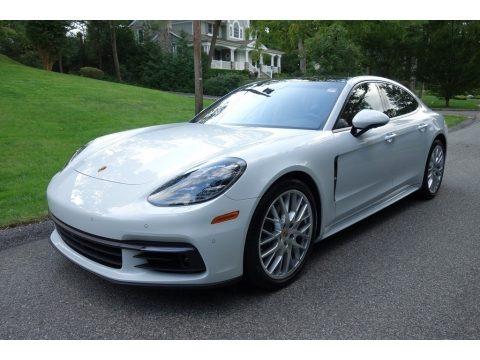Carrara White Metallic 2018 Porsche Panamera 4